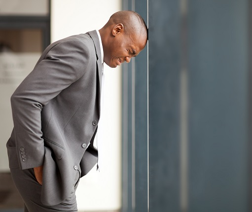 Entrepreneur on hard times